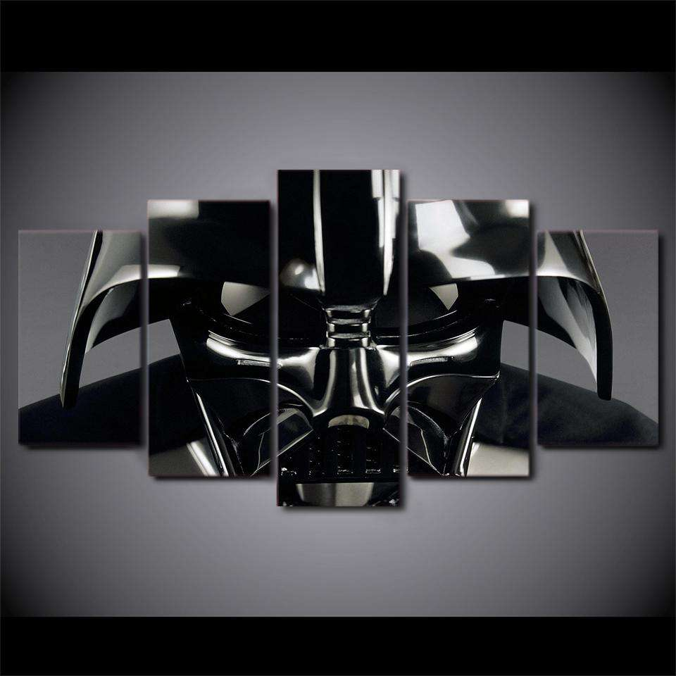 Star Wars 5 Piece Wall Art | Darth Vader