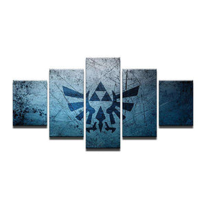 Legend Of Zelda Wall Art: Tri Force
