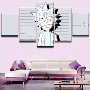 Rick And Morty Wall Art | Prison Rick