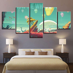 Rick and Morty Wall Art | Show Me What You Got
