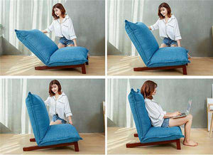 the NOKORI | Japanese Style Low Profile Floor Recliner
