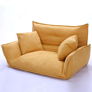 Small Modern Japanese Floor Couch & Sofa Bed