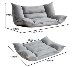 Contemporary Japanese Floor Couch & Sofa Bed