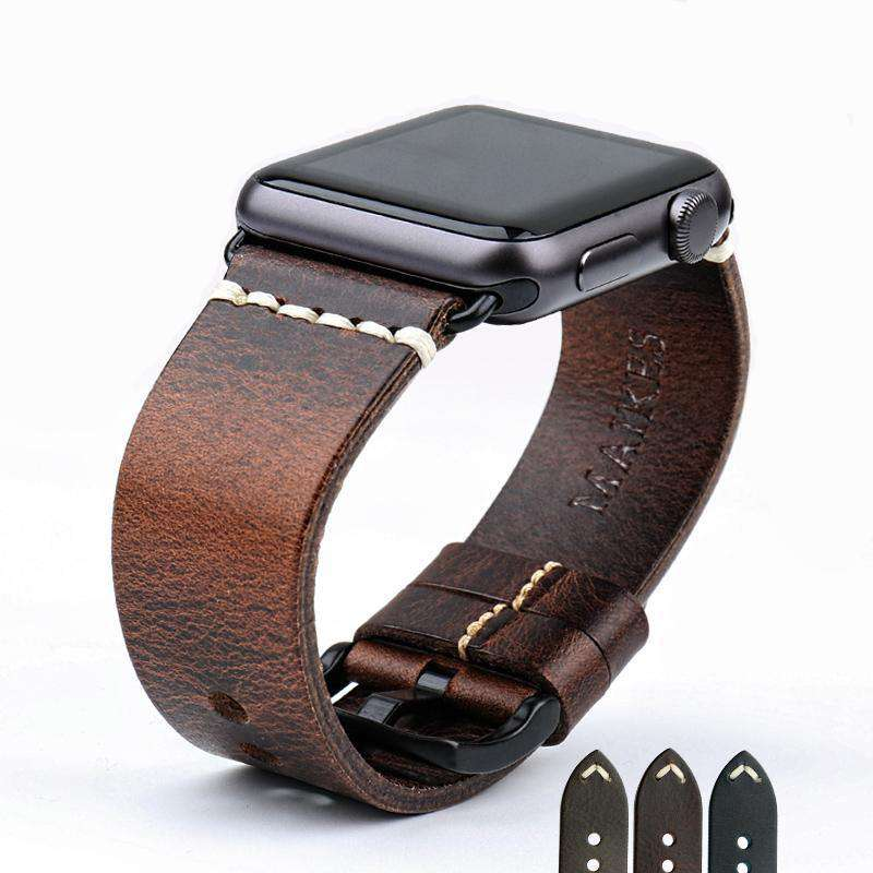 the ARBITER | Leather Apple Watch Band | 42mm 38mm / 44mm 40mm