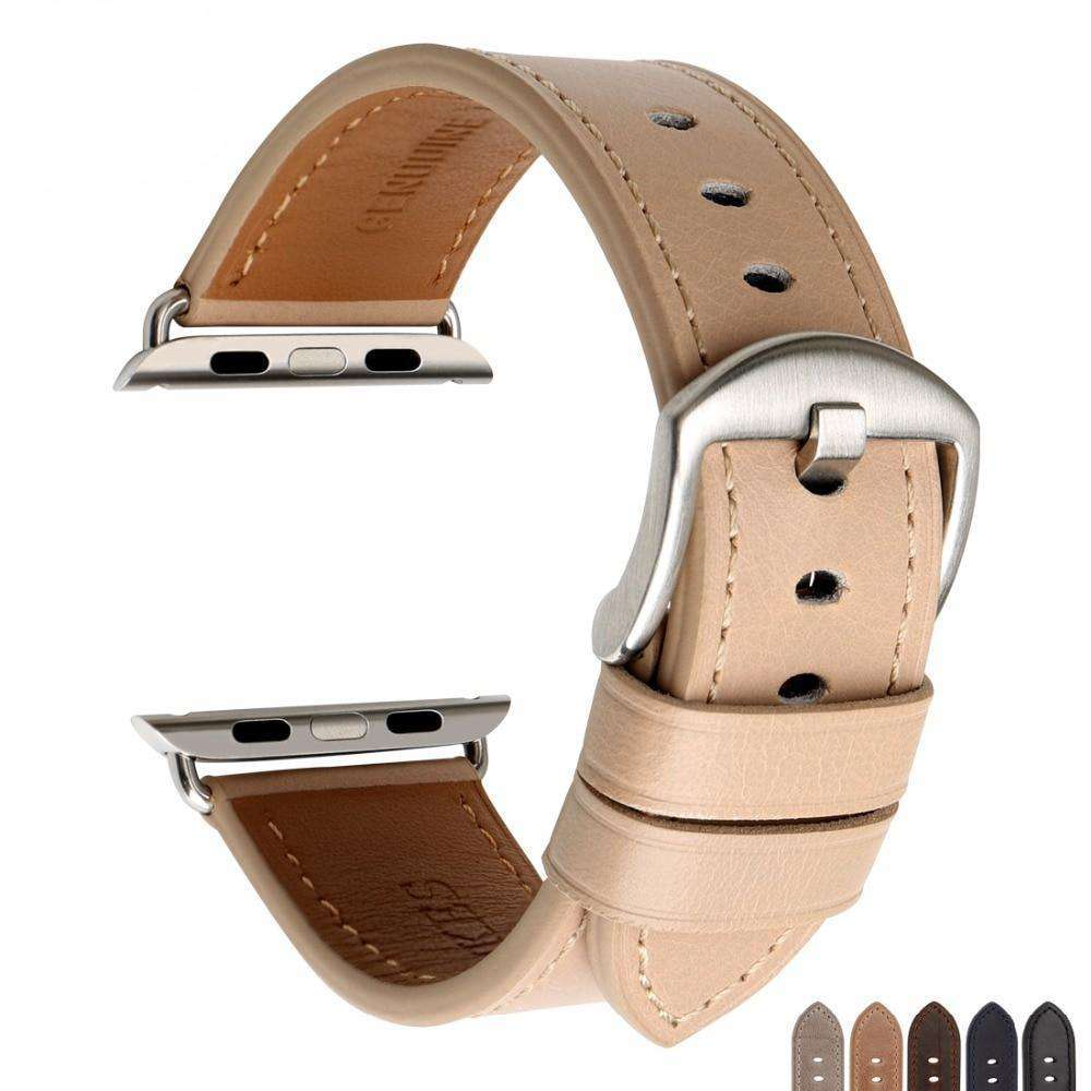the BIRCH | Leather Apple Watch Band | 42mm 38mm / 44mm 40mm