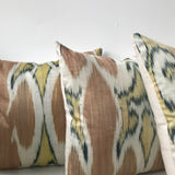 Silk Ikat Pillows