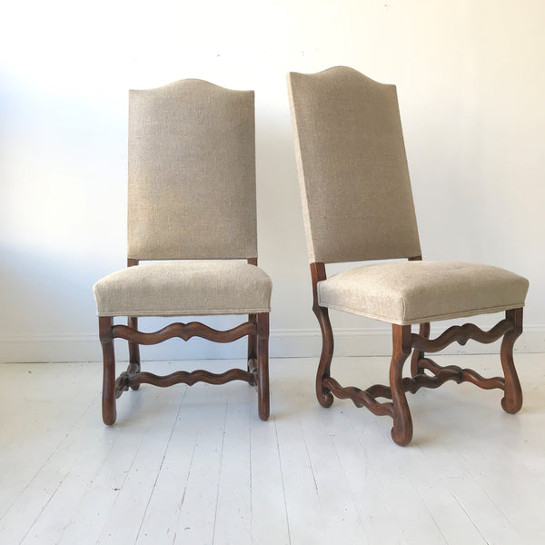 Oak Side Chairs