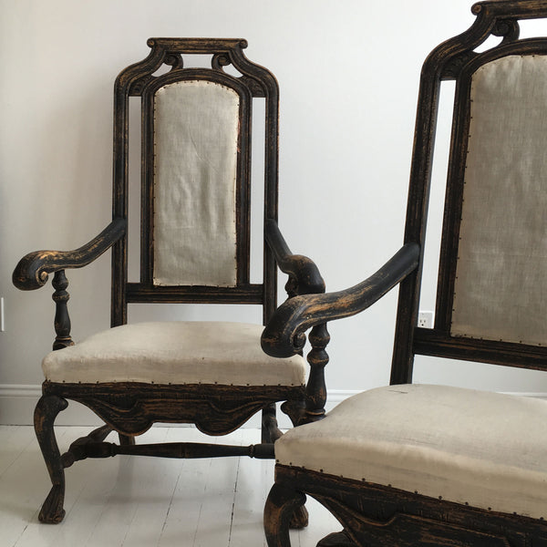 Swedish Arm Chairs