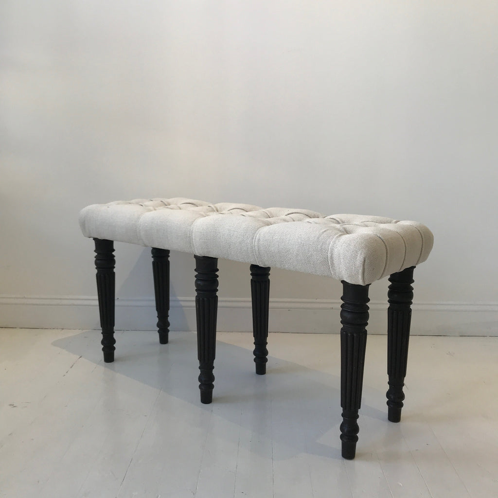 Upholstered English Bench