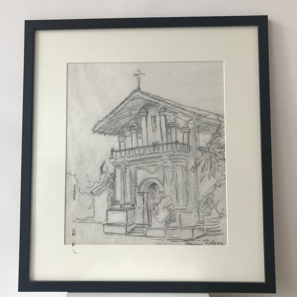 Mission Dolores Pencil
