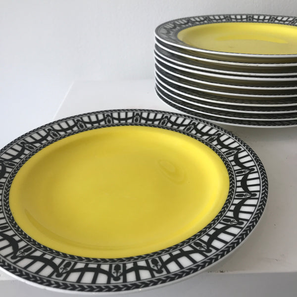 English Luncheon Plates