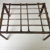 Iron Grate Table