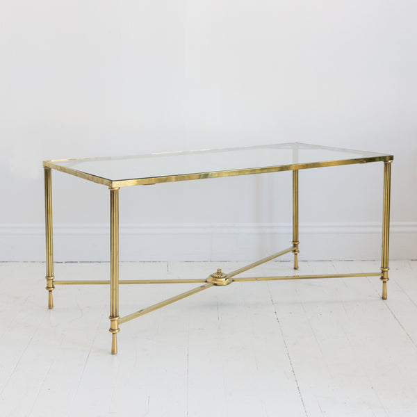 French Brass Table