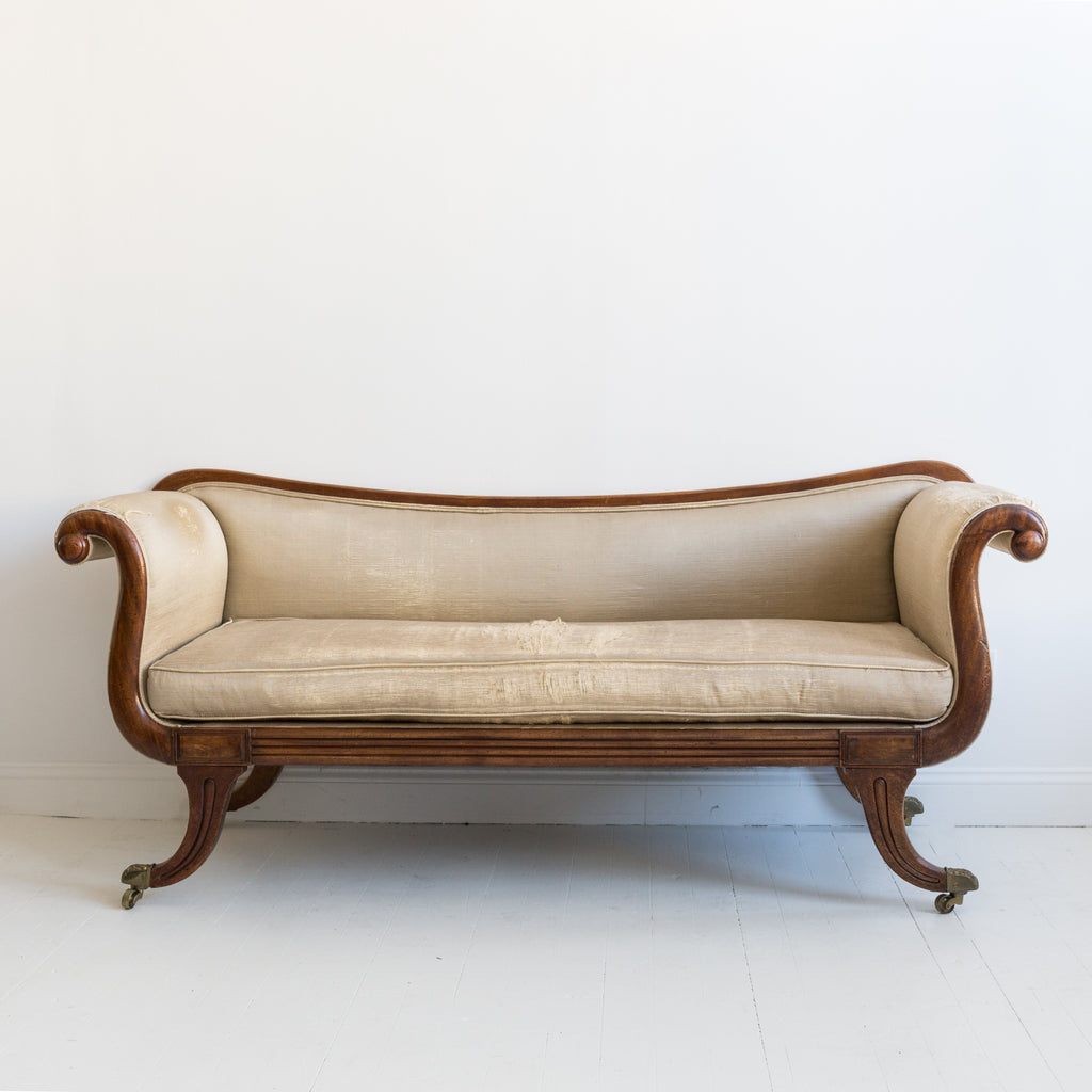 English Empire Sofa