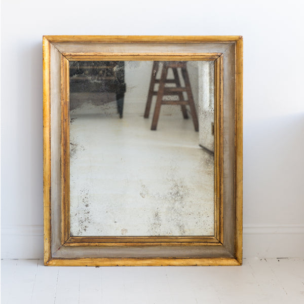 English Gilt Mirror