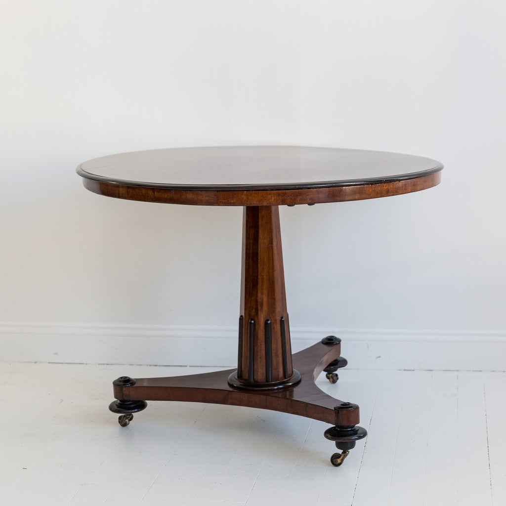 Mahogany Center Table