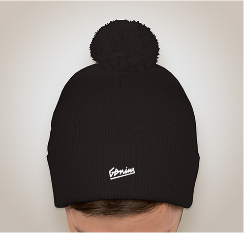 If You Think You Can Beanie - BLK