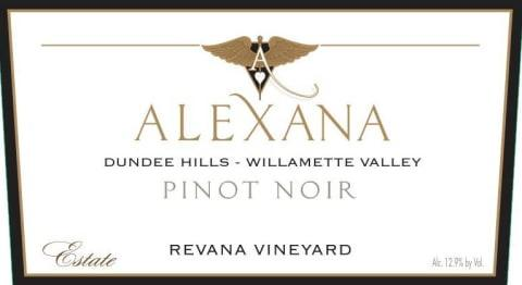 Alexana Revana Vineyard Estate Pinot Noir 2016 - 750ml