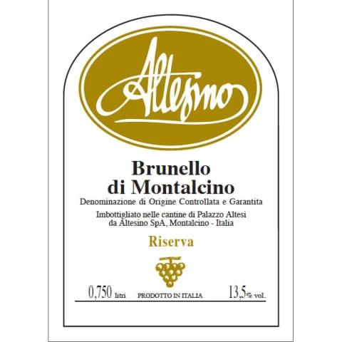 Altesino Brunello di Montalcino Riserva 2015 - 750ml