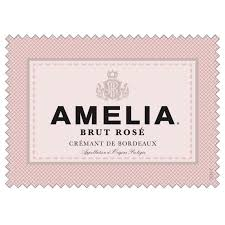 Amelia Brut Rose Cremant de Bordeaux - 750ml