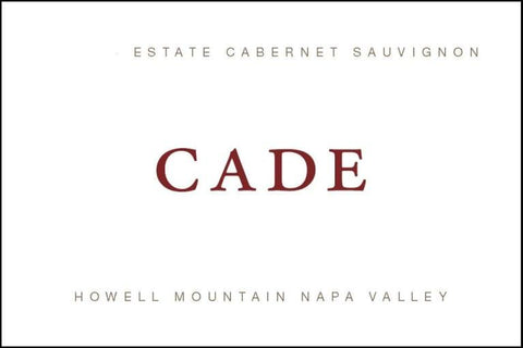 Cade Cabernet Sauvignon Howell Mountain 2017 - 750ml
