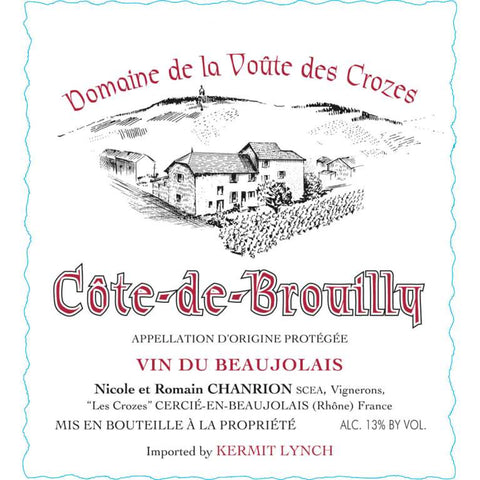 Chanrion Cote de Brouilly 2019 - 750ml