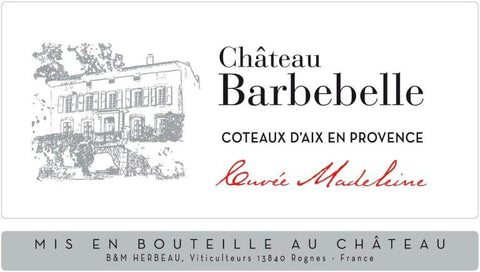 Chateau Barbebelle Cuvee Madeleine Rose 2019 - 750ml