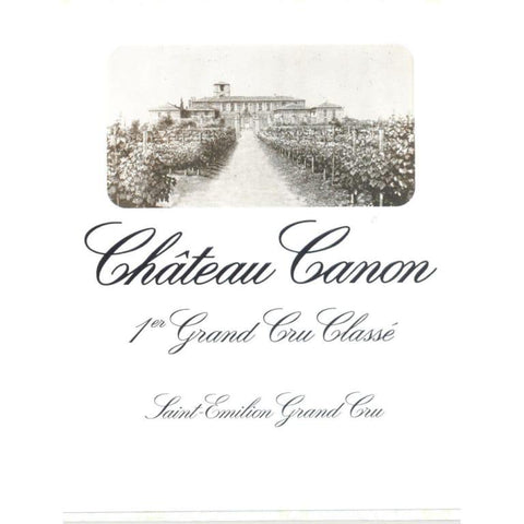 Chateau Canon Saint Emilion 2012 - 750ml