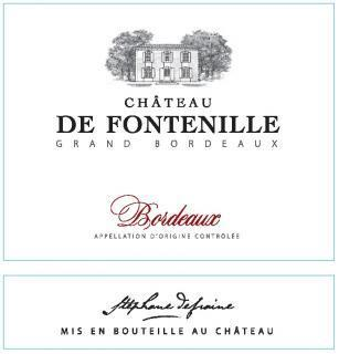Chateau de Fontenille Bordeaux Rouge 2018 - 750ml