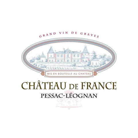Chateau de France Bordeaux Rouge 2015 - 750ml