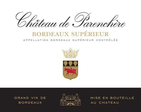 Chateau de Parenchere Bordeaux Superieur 2017 - 750ml