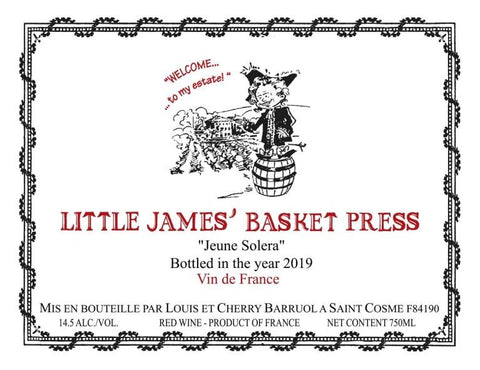 Chateau de Saint Cosme Little James Basket Press Red Blend - 750ml