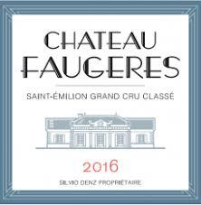 Chateau Faugeres Saint Emilion Grand Cru 2016 - 750ml