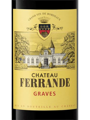 Chateau Ferrande Graves Rouge 2016 - 750ml