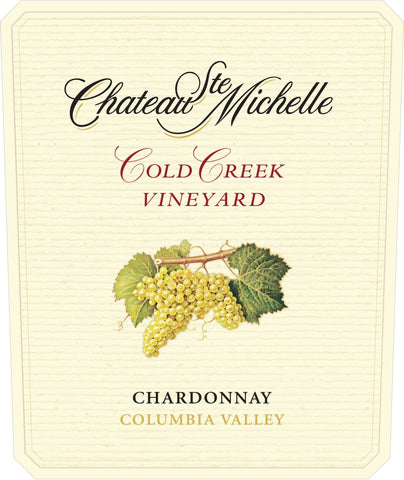 Chateau Ste. Michelle Cold Creek Chardonnay 2016 - 750ml