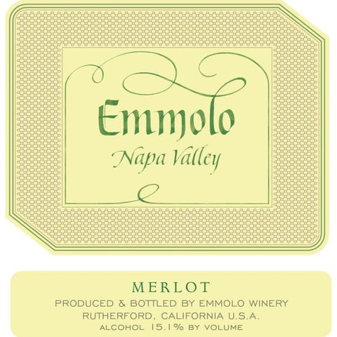 Emmolo Merlot 2018 - 750ml