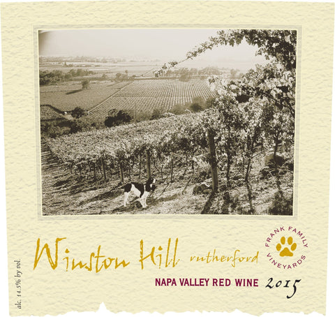 Frank Family Winston Hill Proprietary Red 2015 - 750ml