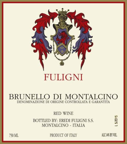 Fuligni Brunello di Montalcino 2015 - 750ml