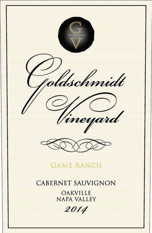 Goldschmidt Game Ranch Cabernet Sauvignon 2015 - 750ml