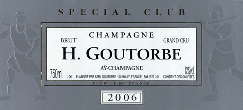 H. Goutorbe Grand Cru Brut Special Club 2006 -750ml