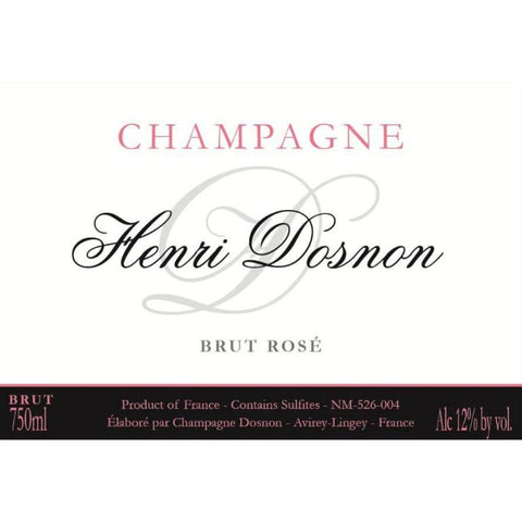 Henri Dosnon Brut Rose - 750ml