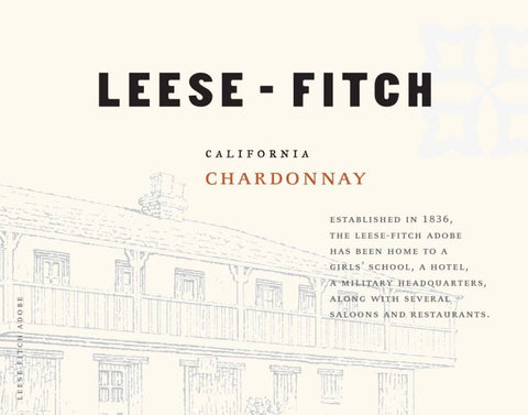 Leese-Fitch Chardonnay 2019 - 750ml