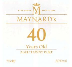 Maynard's Aged Tawny Porto 40 Years - 750ml
