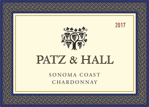 Patz & Hall Chardonnay Sonoma 2017 - 750ml