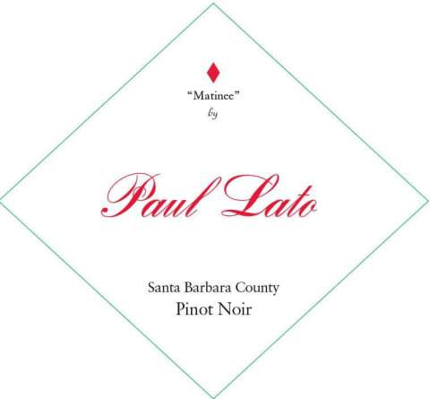 Paul Lato Matinee Pinot Noir 2018 - 750ml