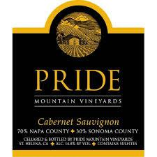 Pride Mountain Cabernet Sauvignon 2017 - 750ml