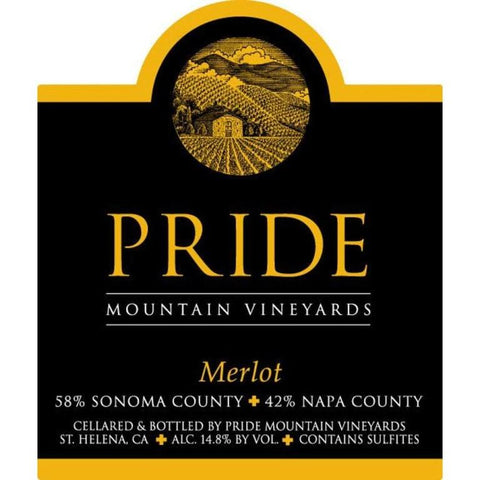 Pride Mountain Merlot 2015 - 1.5L