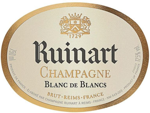 Ruinart Blanc de Blancs NV - 750ml