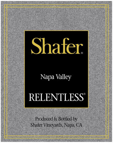 Shafer Relentless Syrah 2017 - 750ml