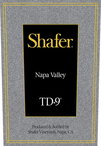 Shafer TD-9 2017 - 750ml